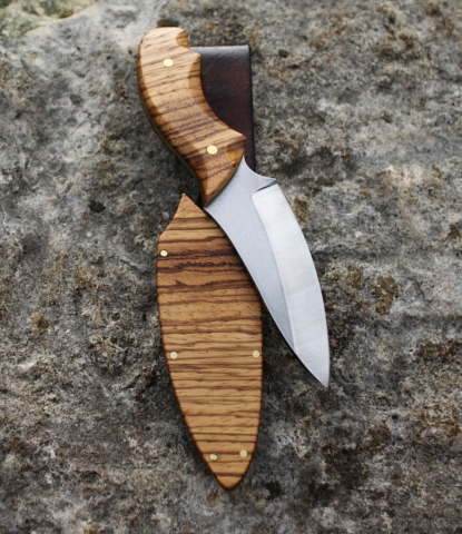 Classic Zebra Wood Knife Meraki Knives